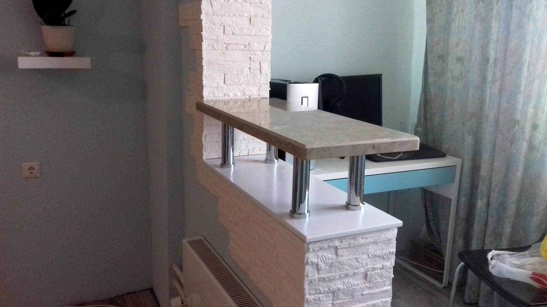 Барная стойка вместо балкона