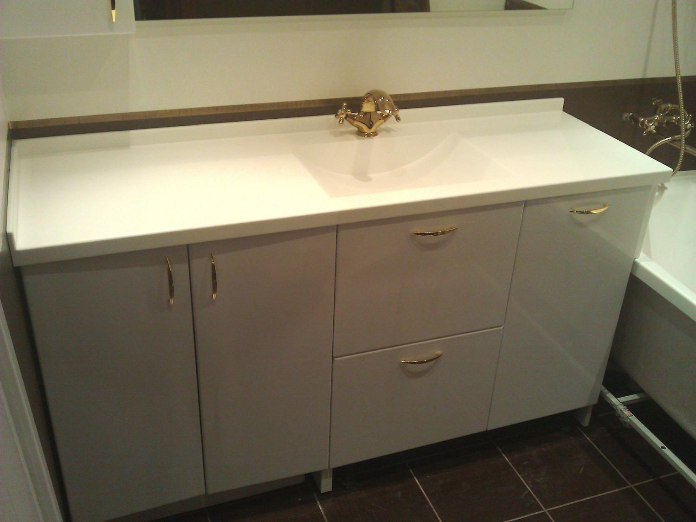 Раковина и столешница для ванной